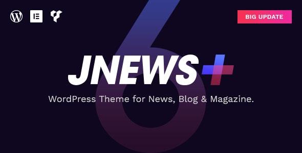 Chia sẻ theme Jnews có key - top #1 theme tin tức trên wordpress