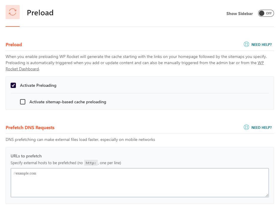 Plugin wp rocket giúp tăng tốc wordpress hiệu quả
