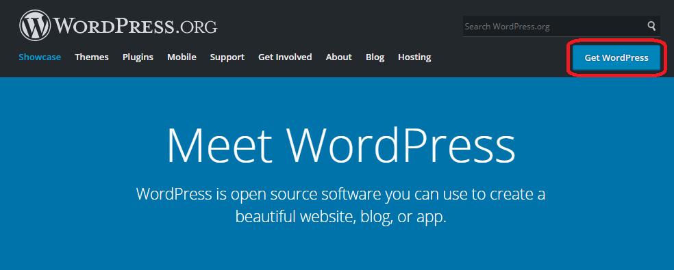 Hướng dẫn cài wordpress lên website Cpanel #1