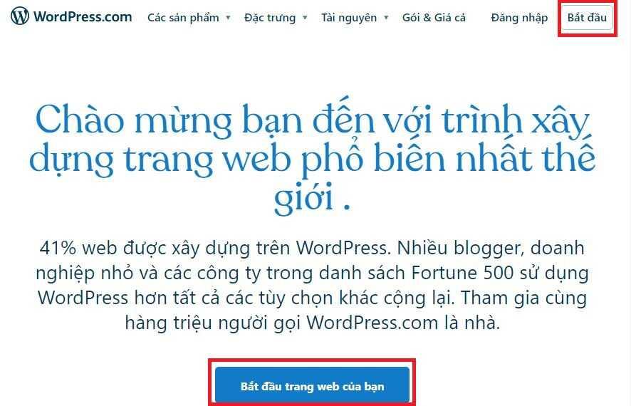 cách tạo blog cá nhân trên wordpress