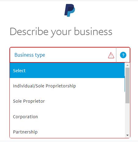 đăng ký paypal, cách tạo tài khoản paypal  , lập paypal