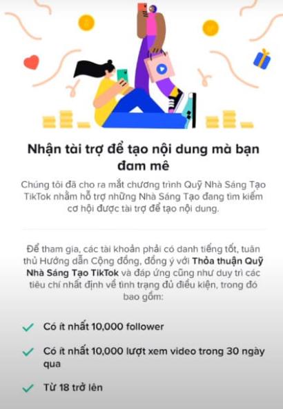 Hướng dẫn cách bật kiếm tiền từ Tiktok từ đầu
