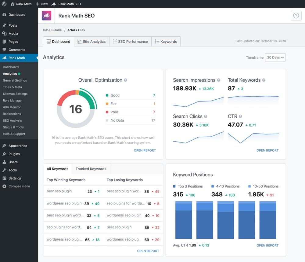 Rank Math Seo Pro plugin SEO tốt nhất cho wordpress 2021