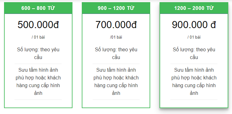 Viết Content thuê tại Quảng Bình, uy tín, độc đáo #1